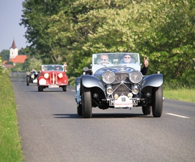 Oldtimer Ralley am 7. Mai 2016