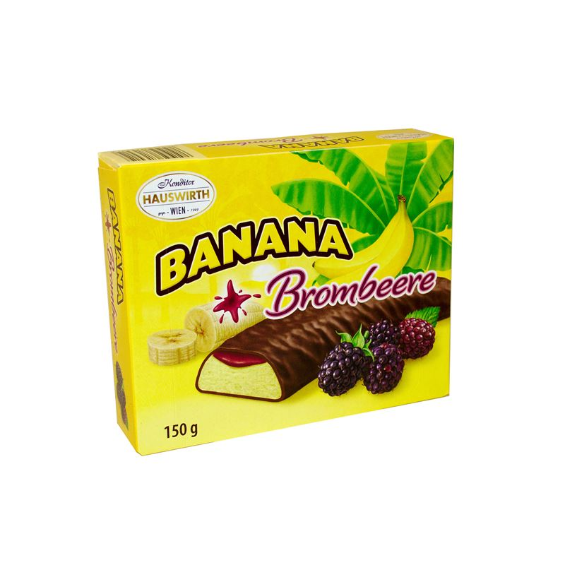 Banana Plus Brombeere150g